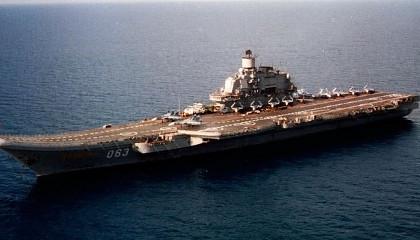 Адмирал Кузнецов возвращается домой в Североморск