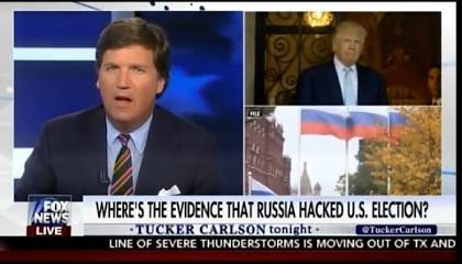Ведущий Fox News разносит журналиста из за доклада о Русских хакерах