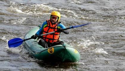 Надувная лодка байдарка Waterfly 1 (плюсы и минусы)