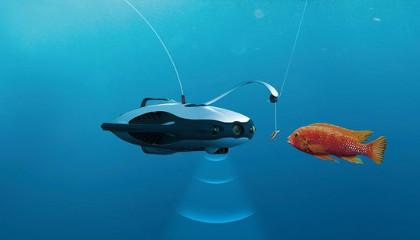 Подводный дрон рыбак - PowerRay