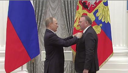 Прямая трансляция: Путин вручает госнаграды в сфере науки, здравоохранения и искусства
