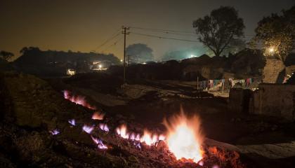 Джхария - город в адском пламени