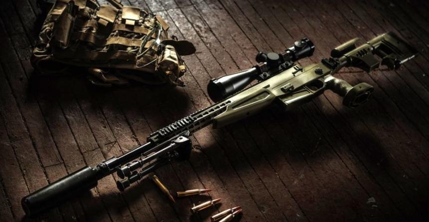 Высокоточная снайперская винтовка ВСВ-338, СВК и СК-16