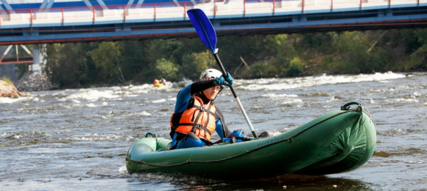 Надувная лодка байдарка ВАТЕРФЛАЙ 1 (плюсы и минусы)