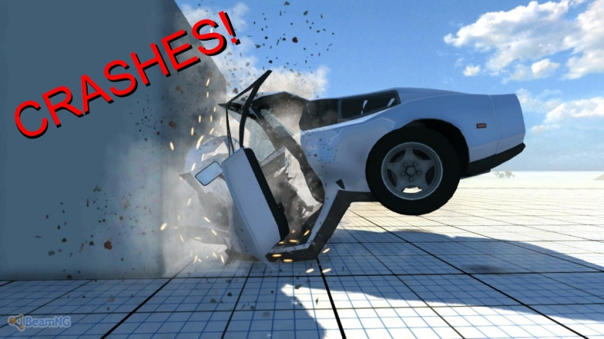 BeamNG.drive - симулятор уничтожения автомобилей