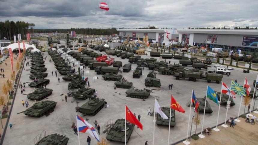 АРМИЯ 2017 - Международный военно-технический форум.