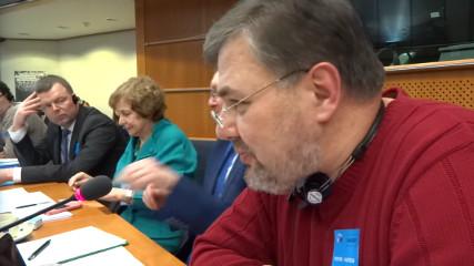 Выступление Руслана Коцабы в Европарламенте