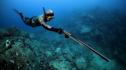 Запрещается подводная охота? - (Ответы)