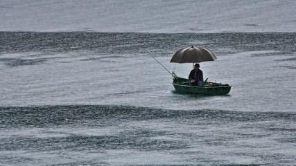 Рыба в дождь клюёт?