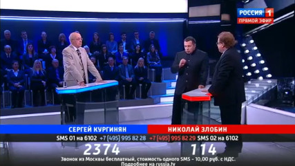 Поединок: Кургинян против Злобина от 30.03.2017