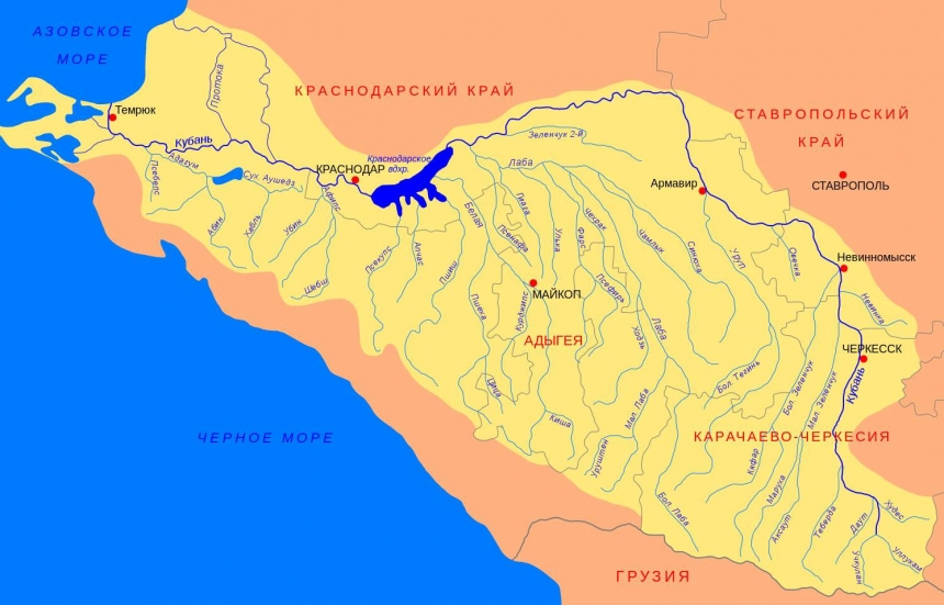 Каменные загадки долины реки Малая Лаба