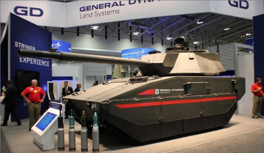 Новая бронетехника американской армии - программа перевооружения