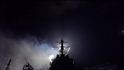 США нанесли удар по Сирии крылатыми ракетами