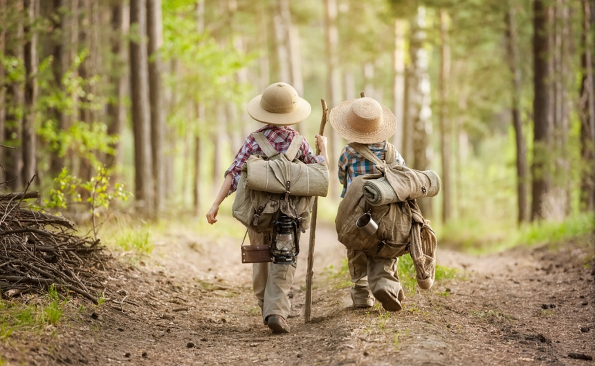 С ребенком в турпоход