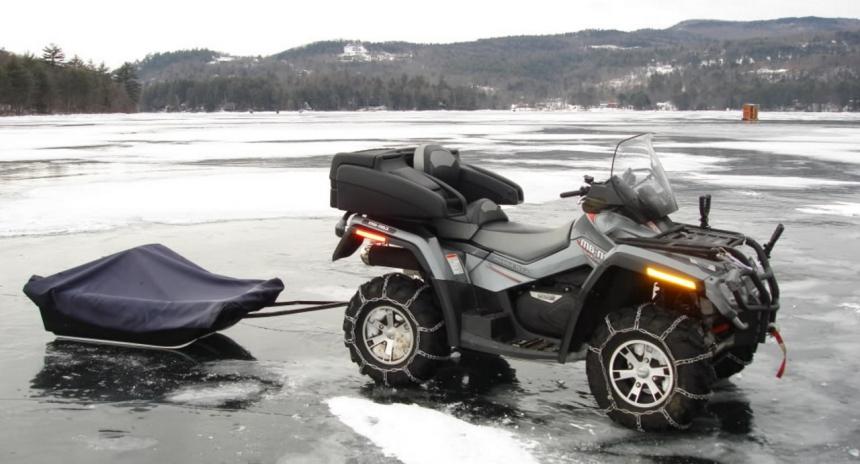 Квадроцикл для охоты и рыбалки