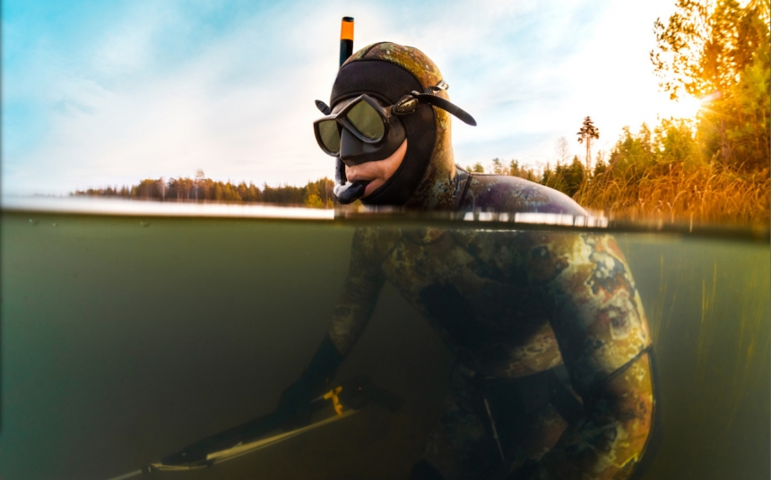 Отличный день на подводной охоте