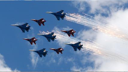 Генеральная репетиция парада Победы на Красной площади — LIVE