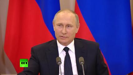 Путин: в США процветает политическая шизофрения