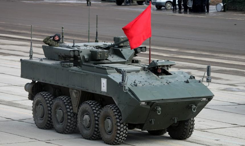 БТР - Бронетранспортер России