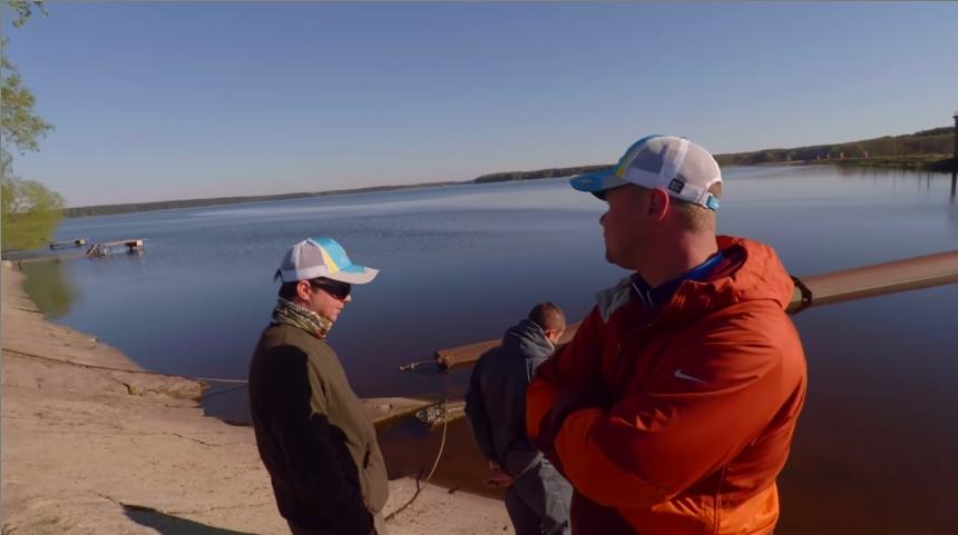Особенности спортивного рыболовства в Беларусии (Чигиринское водохранилище 2017)