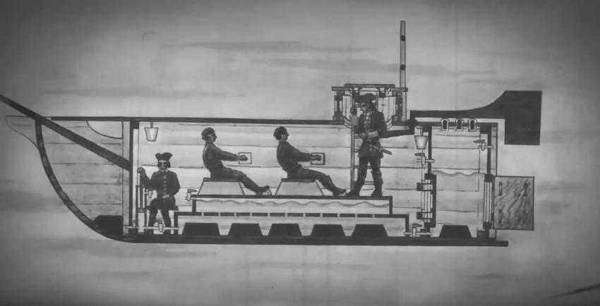Первая подводная лодка России в Сестрорецке