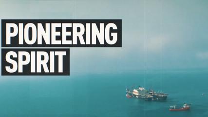 PIONEERING SPIRIT - (судно-трубоукладчик)