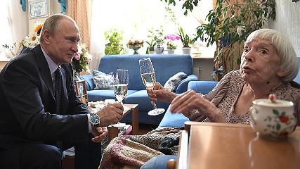 Она не целовала руку Путину (Леонид Гозман)