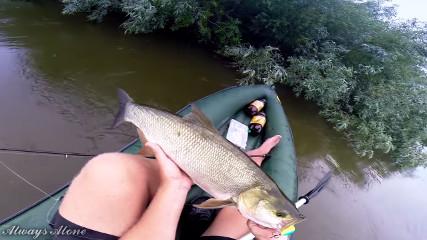 Always Alone: Рыбалка по высокой воде на нижней Волге