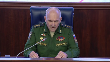Брифинг  генерал-полковника С.Ф. Рудского - начальника ГОУ ГШ ВС РФ (24.07.2017)