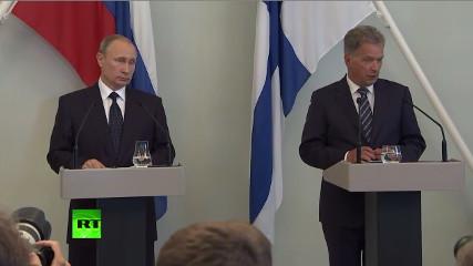 Путин и президент Финляндии - итоги переговоров