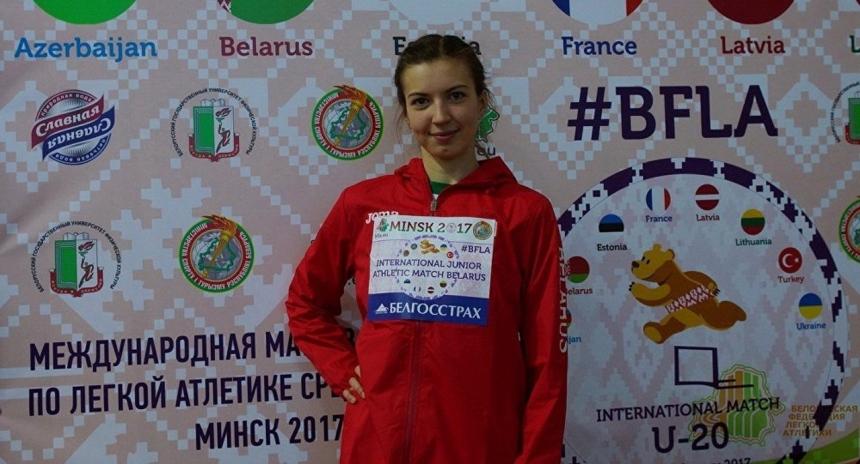 Белоруска Виолетта Скворцова ушла с пьедестала из-за гимна