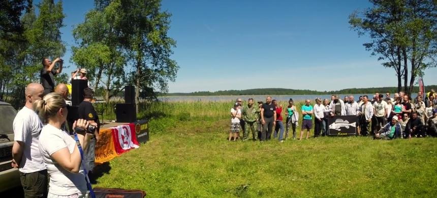 7-ой слёт подводных охотников Браслав 2017 (Беларусь)