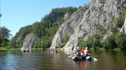 Замятин Club: Белая река (Башкирия)