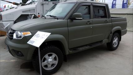 УАЗ 3163 (Патриот) – русская тачанка 21 века