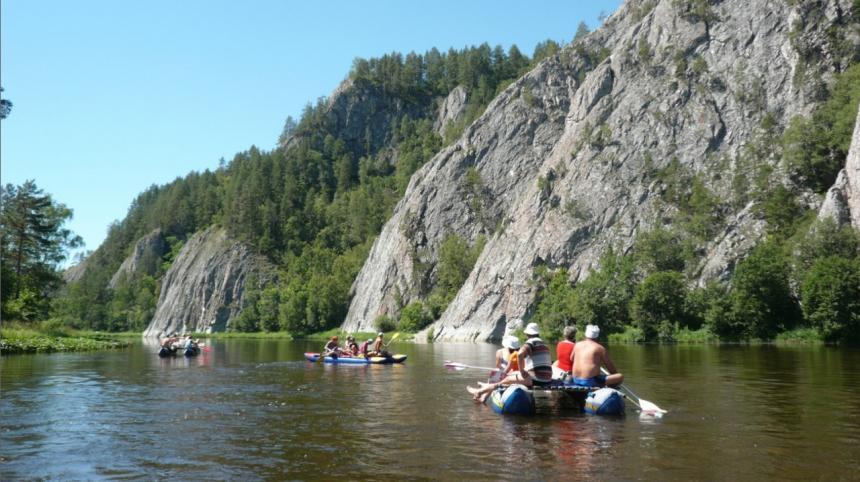 Белая река (Башкирия). Самый южный край Уральских гор - Там где клюёт судак.
