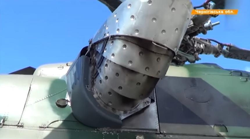 Украинские стелс-технологии (вертолеты и палатки)