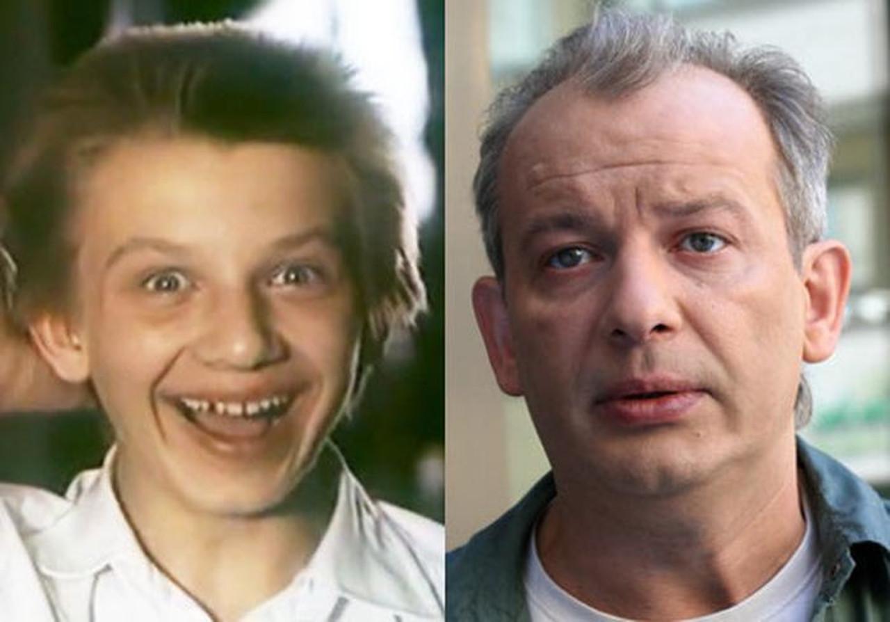 Какой советский актер на этом фото показан еще ребенком