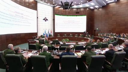 Заседание Минобороны России (27.10.2017)