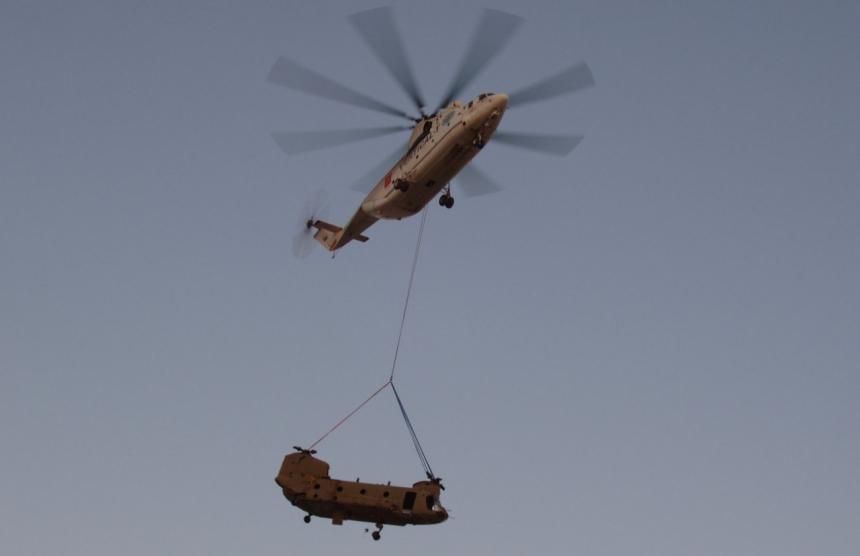 Ми-26 - Самый большой в мире вертолет