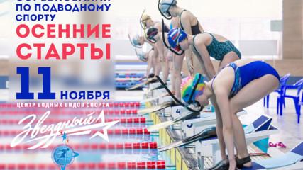 Осенние старты • 2017 - Соревнования по подводному спорту  (11 ноября)