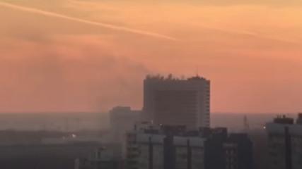 Пожар на техническом объекте Службы внешней разведки (юго-запад Москвы)