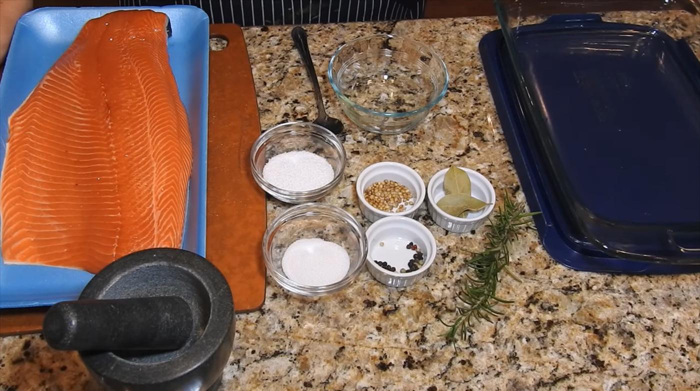 кулинарные рецепты: Малосольная красная рыба