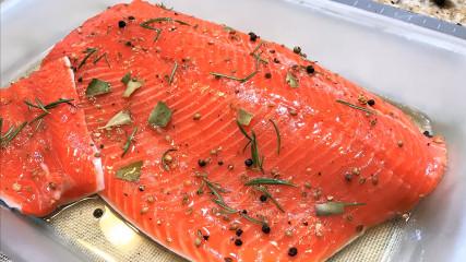 Milenia кулинарные рецепты: Малосольная красная рыба