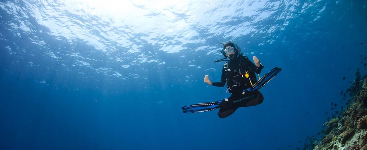 Регулировка плавучести аквалангиста