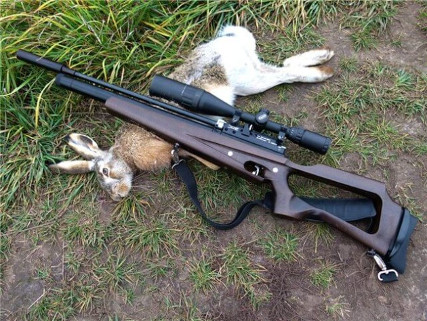 Мощная пневматическая винтовка для охоты Hatsan 125