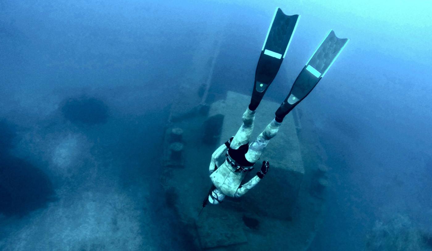 Подводная охота на Кипре