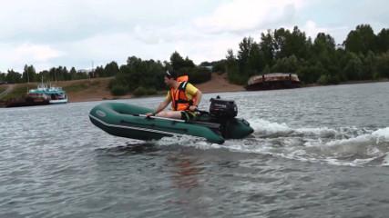 Лодка Лоцман М-290 ЖС