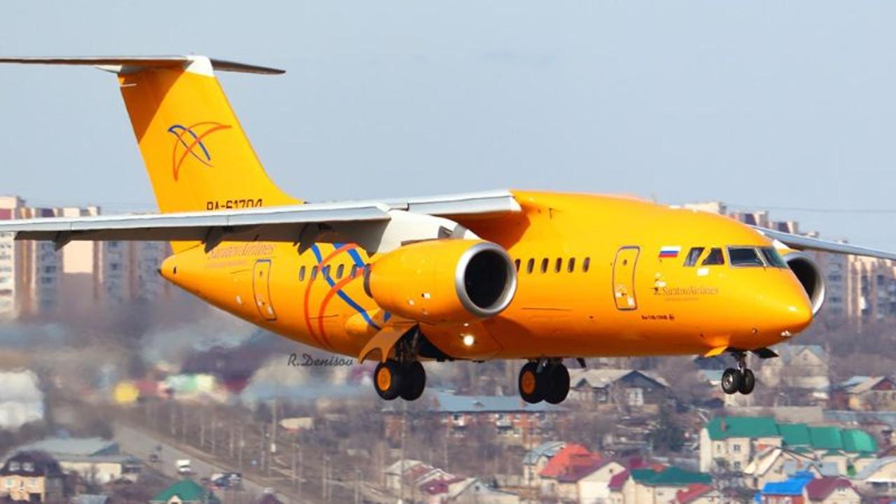 В Подмосковье упал Ан-148 самолет Саратовских авиалиний