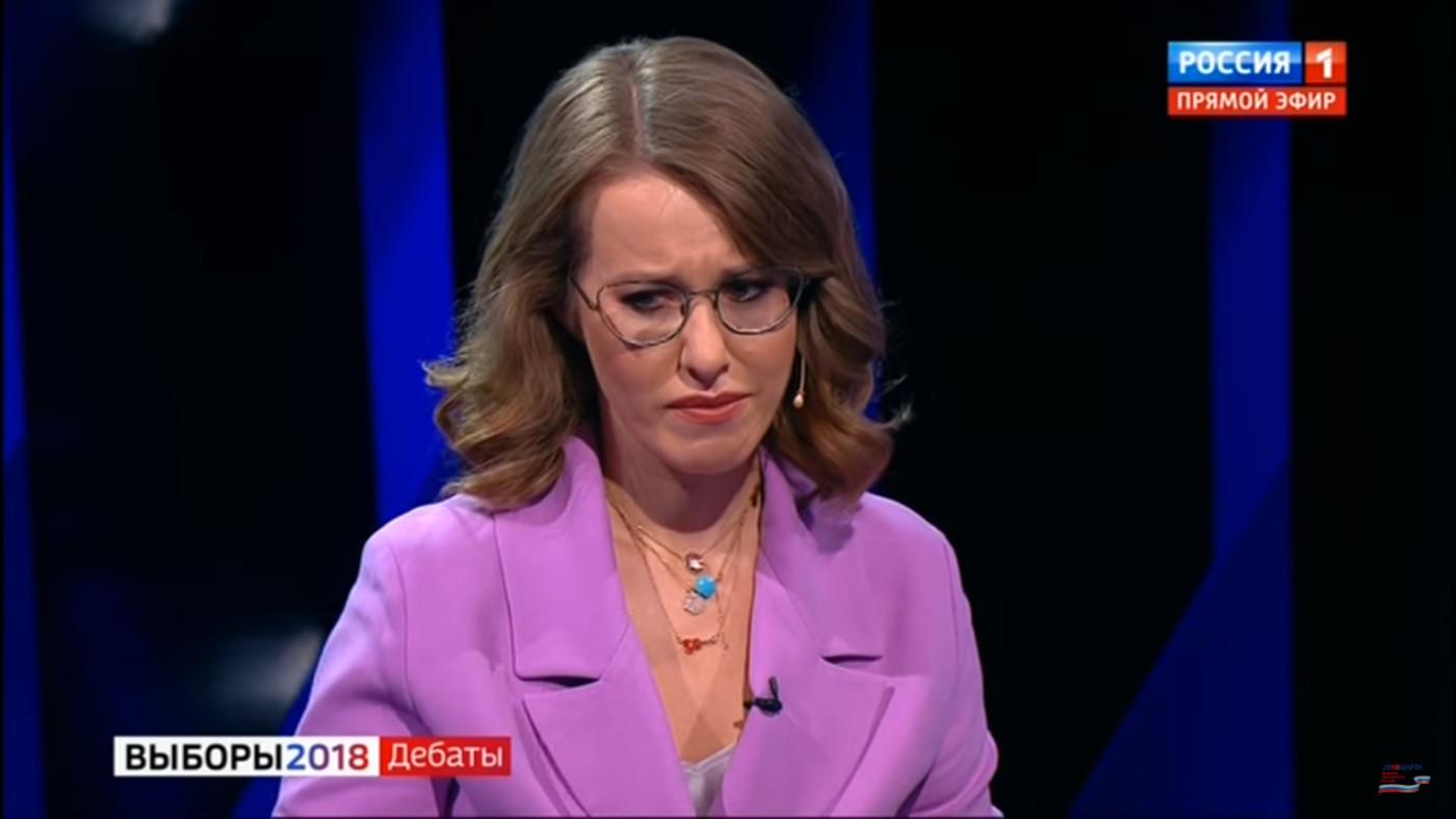 Собчак довели до слёз на дебатах у Соловьёва (Выборы 2018)