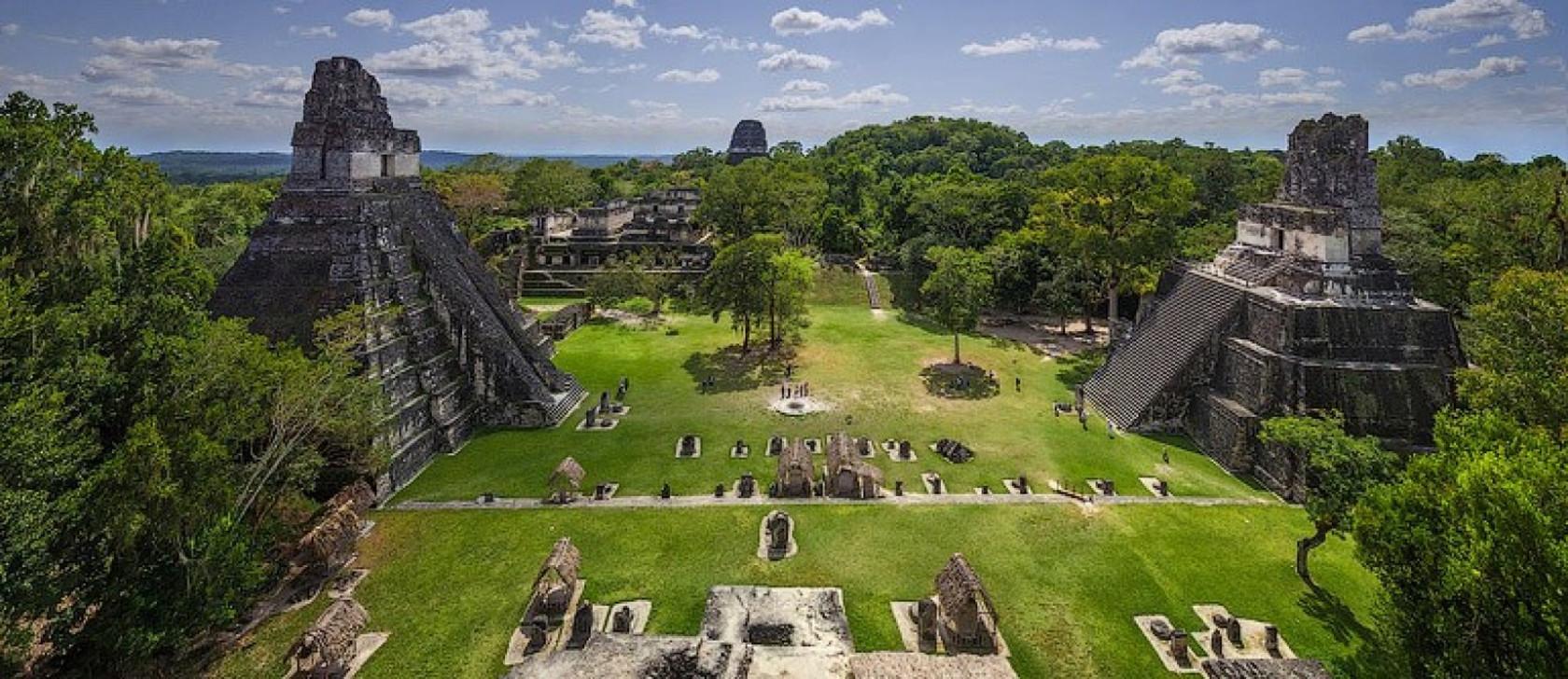 Тикаль - древний город майя в Гватемале